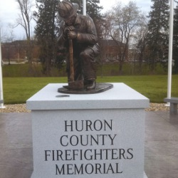 Huron County Fire Fighters Memorial