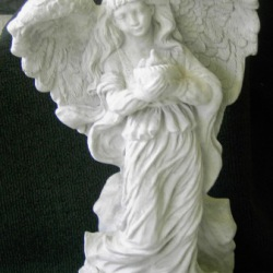 Angel with bird