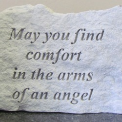 May you find comfort